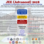 Joint Entrance Examination (Advanced) 2018